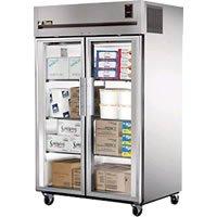 True Ta Spec Series 2-glass Door Reach-in Freezer, 56 Cubic Foot - TA2F-2G