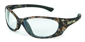 Crews CMOPA110 Mossy Oak Camo Plasma Safety Glasses, Clear Lens