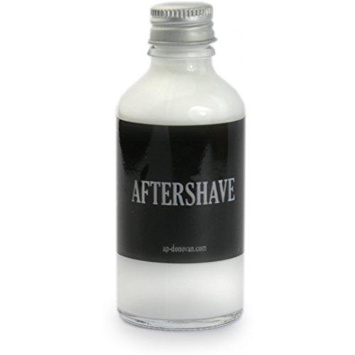 A.P. Donovan - dopobarba di lusso - bottiglia di vetro - Contenuto 50ml - nutre la pelle dopo la rasatura - 100% oli biologici - senza alcool
