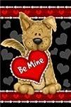 Be Mine Valentines Day Garden Flag