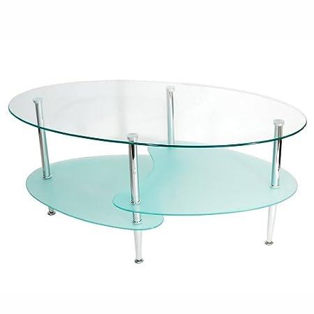Walker Edison 钢化玻璃咖啡桌/茶几