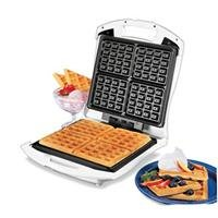 Proctor Silex 26050 4 Square Belgian Waffle Maker by Hamilton Beach