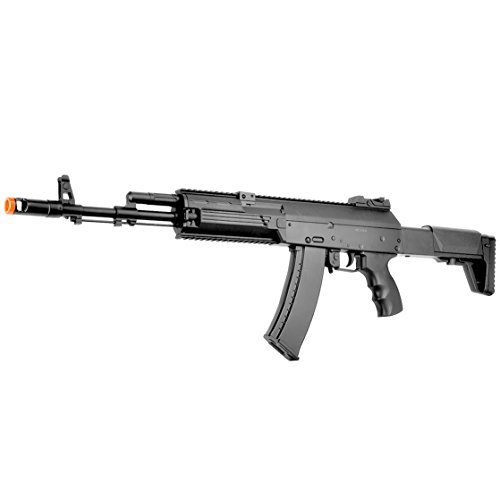 BBTac AK-47 Airsoft Gun, Electric Airsoft Assault Rifle Fully Automatic AEG with Battery & Charger, Magazine, Shoots 6mm Airsoft Pellets (Ak 47 Airsoft Gun Electric compare prices)