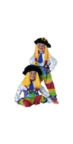 Colorful Clown Yarn Baby Costume