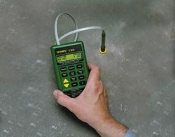 Concrete Moisture Meter and Hygrometer Test Kit by Tramex