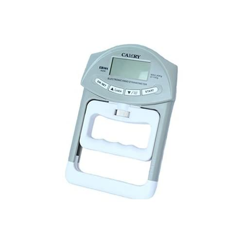 徹底ボディ改革 デジタル 握力計 ハンドグリップ メーター 鍛える ラバー グリップ エクササイズ