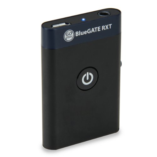 Gogroove Bluegate Rxt 2-In-1 Wireless Bluetooth Music Receiver And Transmitter With 3.5Mm Stereo Output , Rca Adapter & 11 Hour Runtime - For Phones , Tablets , Computers , Mp3 Players , Cars , Home Entertainment Systems - Works With Iphone 5S , Lg G3 , H