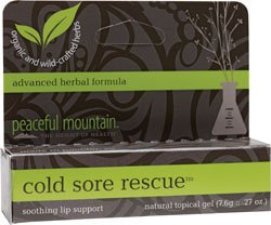 Peaceful Mountain, Cold Sore Rescue, 0.25 oz (7 g)