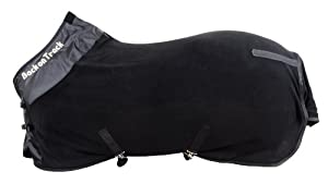 Back on Track Therapeutic Fleece Supreme Rug for Horses, 81-Inch, Black