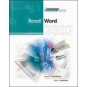 Word 2002: Complete Edition (Advantage) PDF