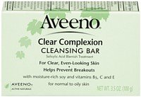 Aveeno Clear Complexion Cleansing Bar for Acne, 3.5 oz