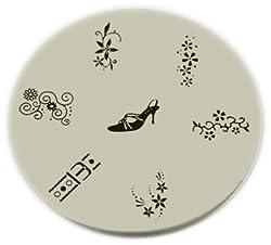 Konad Stamping Nail Art Image Plate M9