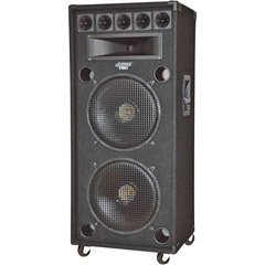 Pyle-Pro Padh182 - 1400 Watt Dual 18'' 8-Way Stage Speaker Cabinet
