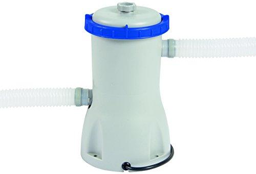 Bestway skimmer filtro pulitore per piscine 58233 grigio for Pulitore piscina bestway