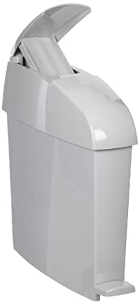 Rubbermaid Commercial Sanitary Trash Can, Rectangular