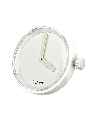 Fullspot O clock Cassa Bianco  MEC.BI - Orologio da polso Unisex