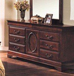 Storage Dresser Brown Cherry Finish