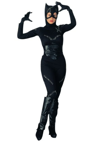 Rubies Womens Catwoman Batman Returns Dc Comic Fancy Dress Halloween Costume