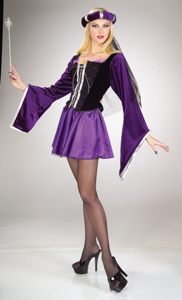 Renaissance Sexy Adult Halloween Costume Size 8-12 Medium/Large