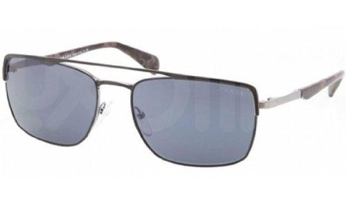 pradaPrada PR50QS Sunglasses-1BO/0A9 Matte Black/Gunmetal (Gray Lens)-58mm