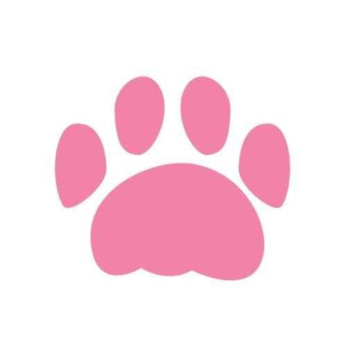 Paw Print Stencil For Painting Paw Prints On Walls And Furniture In A Pet Spa, Doggy Daycare, Classroom, Or Bedroom front-918600