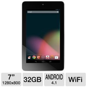 Asus Nexus 7 1B32 7-Inch 32 GB Tablet