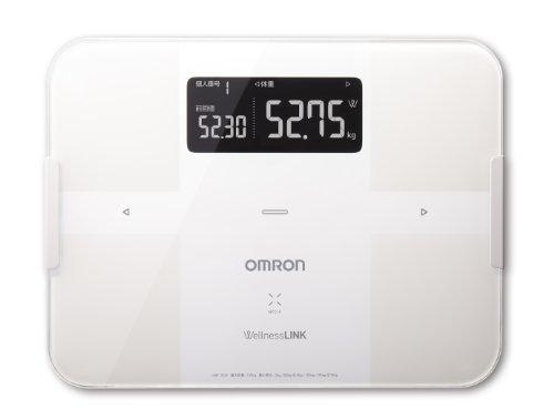 オムロン 体重体組成計 カラダスキャン ホワイト HBF-252F-W【ウェルネスリンク対応】
