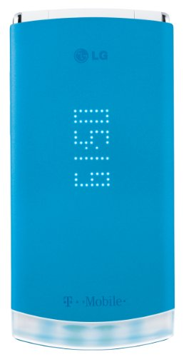 LG dLite GD570 Phone, Blue (T-Mobile)