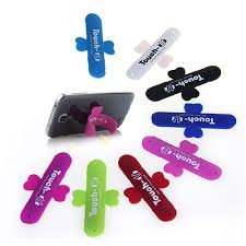 Universal Portable Touch U One Touch Silicone Stand for iPhone Samsung HTC Sony Mobile Phones Tablets - Color May Vary