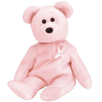 Ty Beanie Babies - Cure Breast Cancer Awareness Bear - 1