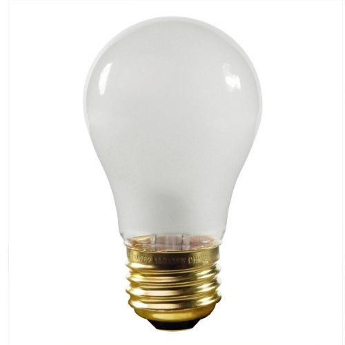 Halco 6018 - 40 Watt Light Bulb - A15 - Frost - Appliance - 3,000 Life Hours - 290 Lumens - 130 Volt front-215489