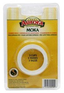 Aurora Espresso Maker Gaskets - Moka - 3 cup by Aurora