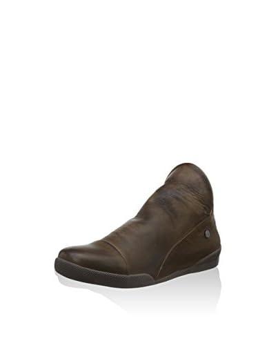 Andrea Conti Zapatos abotinados Marrón