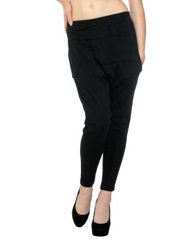 Women Baggy Genie Harem Pants Lays Hippie Hip-Hop Pants Trousers