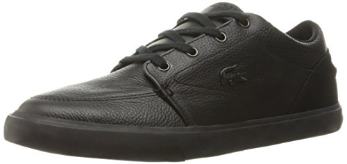 Lacoste Men's Bayliss 316 1 Spm Fashion Sneaker, Black, 8.5 M US
