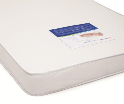 "Foundations 3"" Professional Series Full Size Foam Crib Mattress, White, 0-36 Months front-3527"