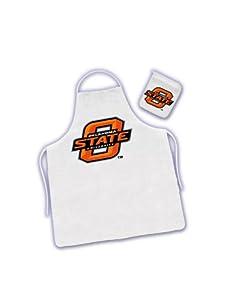 Oklahoma Sooner ( University Of ) NCAA Barbecue/BBQ Apron and Mitt Tailgate Kit