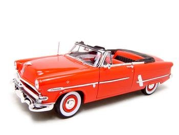 Buy 1953 Ford Crestliner Sunliner Red Diecast Model 1:18 Die Cast Car