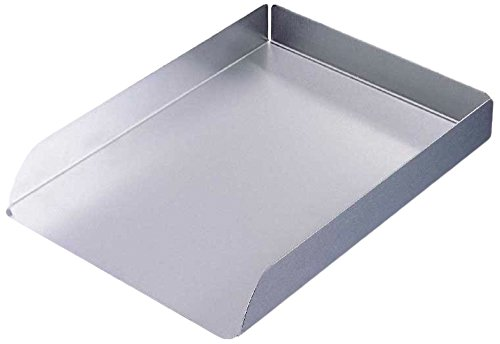 Organize It All Stainless Steel Document Tray (Computer Desk Stainless Steel compare prices)