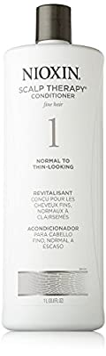 Nioxin System 1 Scalp Therapy For Fine Hair, Non Chemically Enhanced Hair, Normal to Thin-Looking Hair - 1000ml/33.8oz