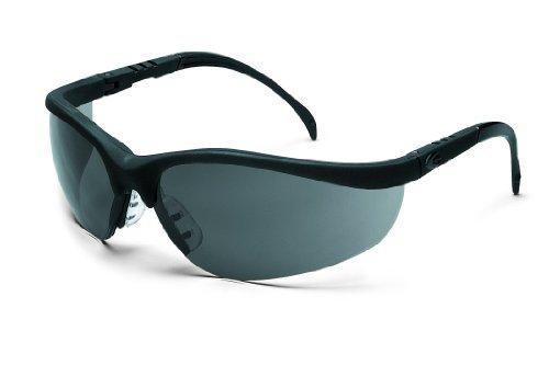 mcr-safety-kd112af-klondike-safety-glasses-with-black-matte-frame-and-gray-anti-fog-lens-by-mcr-safe