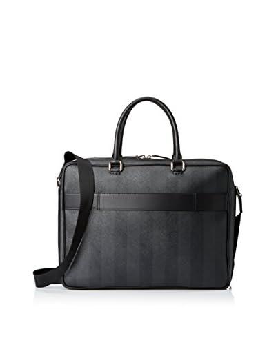Fendi Men's Briefcase Bag, Grey Black