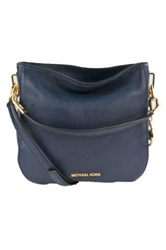 Michael Kors Medium Brooke Shoulder Bag Navy