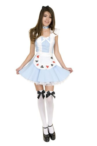 Charades Girls Preteen Alice in Wonderland Costume