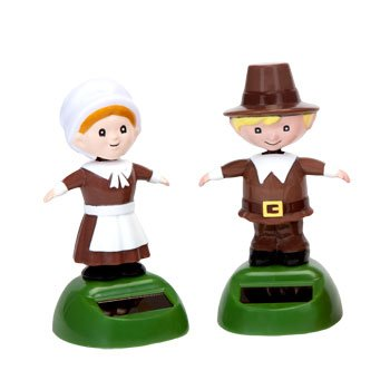 Solar Dancing Pilgrims (Set of 2) - 1