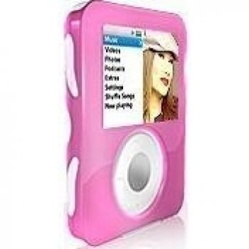 ISKIN DUO Skin For iPod 3G Nano - Pink