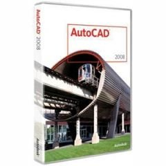 AutoCAD 2008 - Complete Package - 1 User - Win (43686F) Category: Photo Editing Software