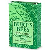 Burt's Bees Wild Lettuce Complexion Soap for Dry and Sensitive Skin, 4-Ounce Bars  (Pack of 3)