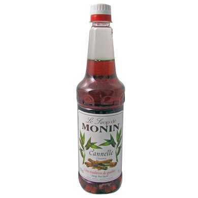 Monin Syrup Cinnamon 1Ltr and Pump