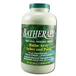 BATHERAPY MINERAL SALTS pack of 3